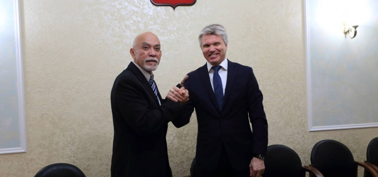 Meeting with Minister of Sport of Russia