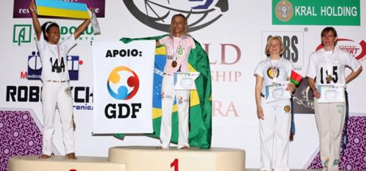 RESULTS OF THE WORLD CHAMPIONSHIP ON SPORT CAPOEIRA 2013