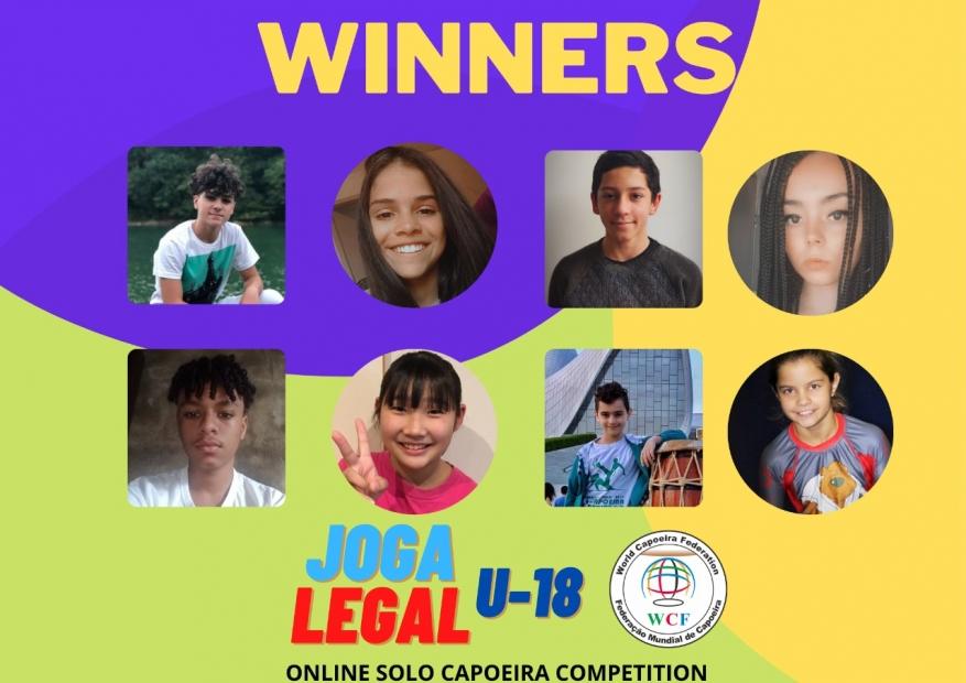 The winners - JOGA LEGAL