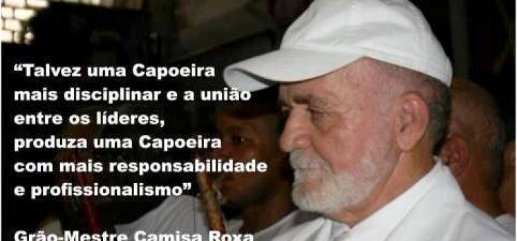 WCF's CONDOLENCE. GRAND MASTER CAMISA ROXA DIEDs